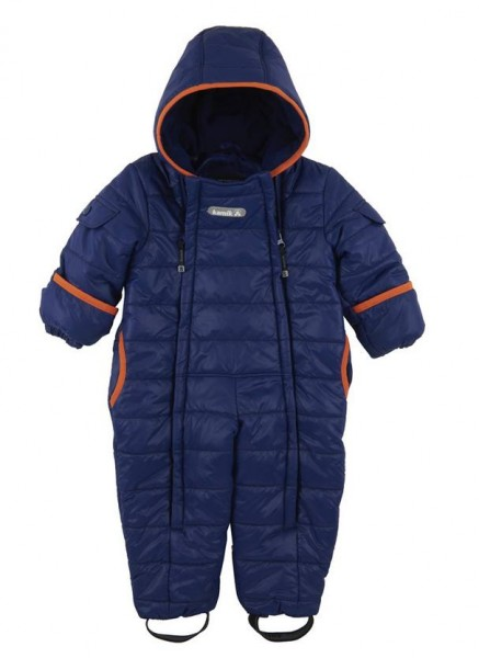 Kamik Topaz navy/orange Baby Thermoanzug Wärmeoverall