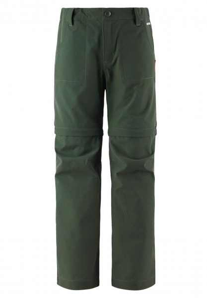Reima VIRTAUS grün Kinder 2in1 Outdoorhose Anti-Bite Mückenschutz