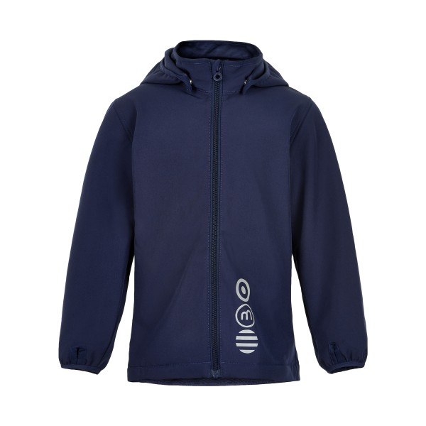 Minymo Kinder Softshelljacke navy