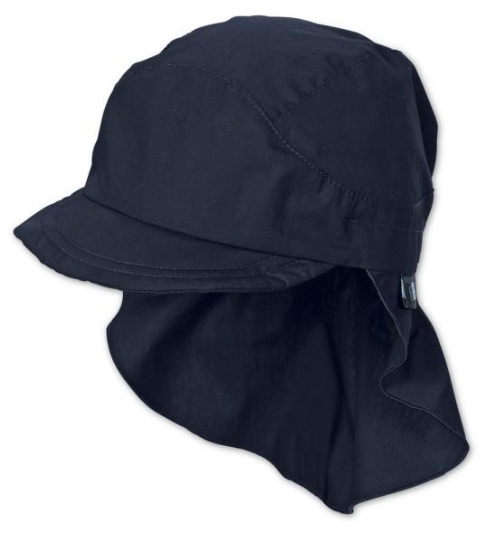 Sterntaler Kinder UV-Schutz Schirmmütze marine mit Nackenschutz