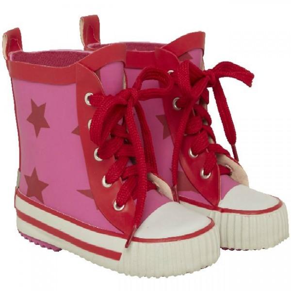CeLaVi Kautschuk Mädchen Gummistiefel Sterne rosa