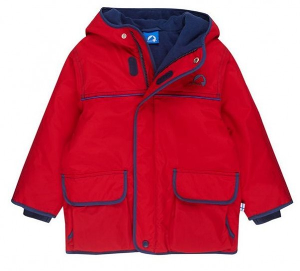 Finkid Talvi red/denim Winter Outdoorjacke