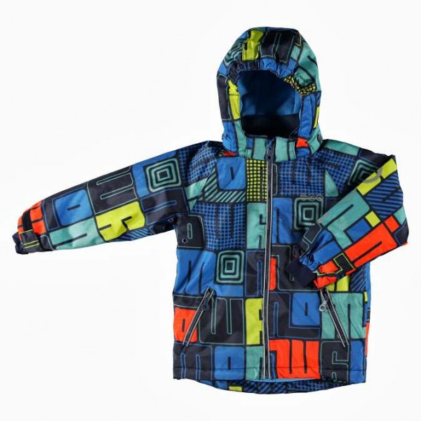 MINYMO Now07 Buchstaben dark blue Skijacke Winterjacke