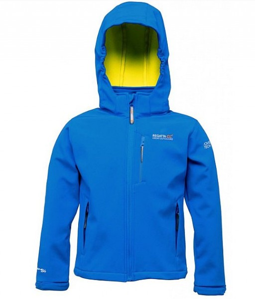 Regatta Kinder Softshelljacke blue Airblaze