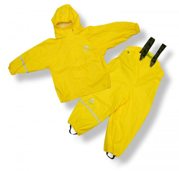 CeLaVi Regenanzug gelb Regenhose + Regenjacke