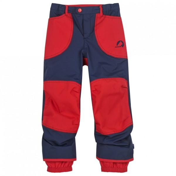 Finkid Tobi navy/red Kinder Regenhose mit Knieverstärkungen