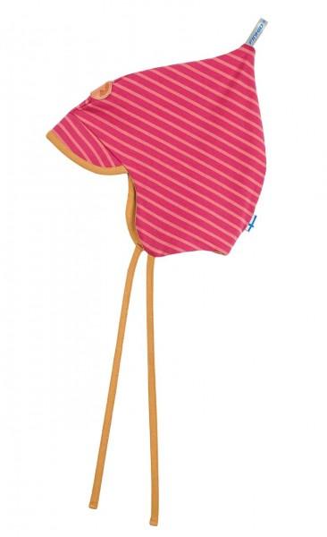 Finkid POPI SPRING rapsberry/rose Jersey Zipfelmütze mit Sonnenschild