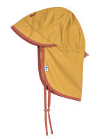 Finkid RANTALI Mädchen Sommerhut golden yellow/chilli mit Nackenschutz