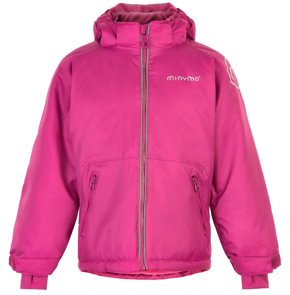 Minymo Wasserdicht Winterjacke Uni Mädchen Pink rthsQd