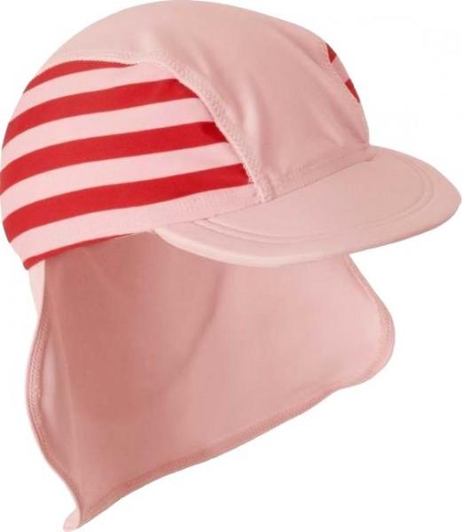 UV-Schutz Strandhut rosa / pink Streifen Sonnenmütze