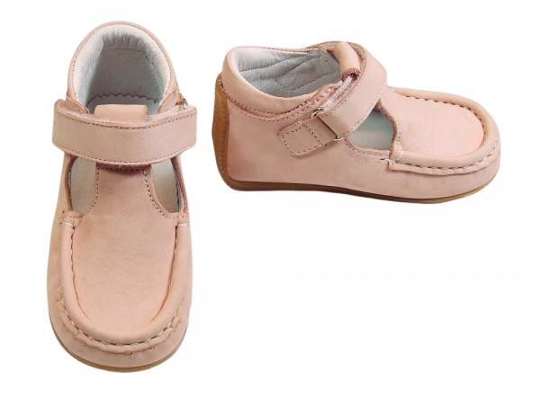 Jochie Mädchen T-Bar Lauflernschuher rosa
