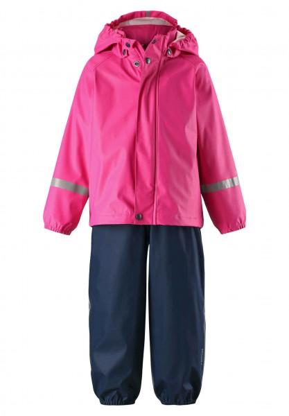 Reima Regenset TIHKU pink/navy Regenhose und Regenjacke