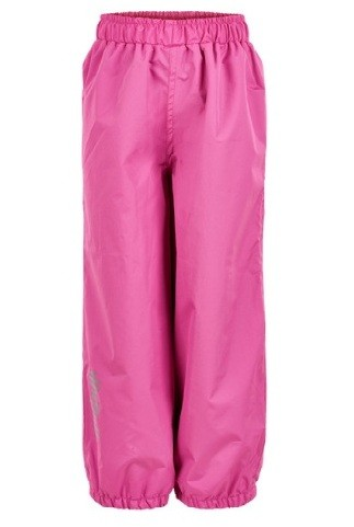 Minymo atmungsaktive Regenhose mit Gummibund Basic pink