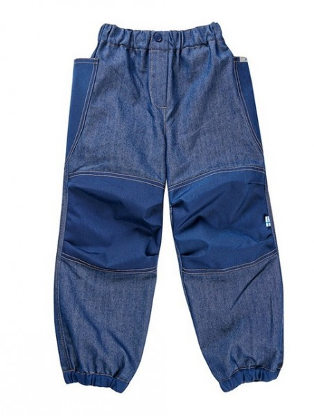 Finkid Jeanshose KUU Jeans denim / navy Outdoorhose knieverstärkt