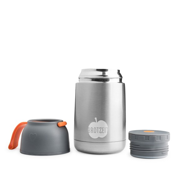 Thermobehälter Edelstahl THERMO Lunchbox 620ml
