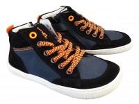 Koel Sneaker DERK Barfußschuhe WEIT schwarz/orange