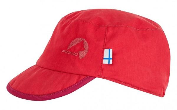 Finkid MIKKE Sonnenmütze red/raspberry mit UV Schutz