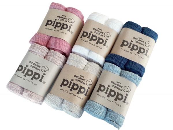 Pippi Organic Waschtücher Frottee 4er Pack