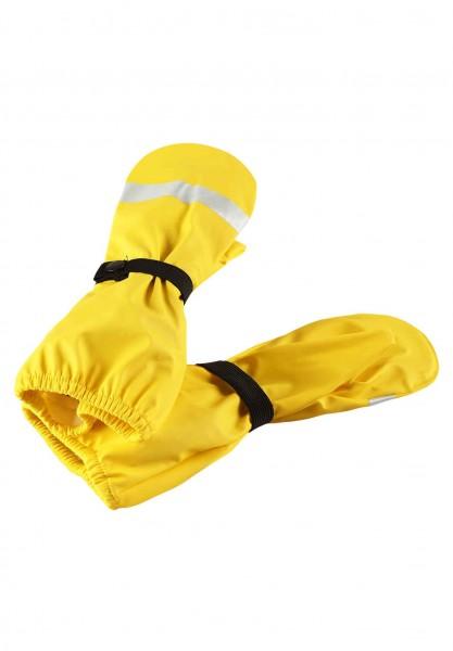 Reima Handschuhe KURA gelb Buddelfäustlinge ungefüttert für Waldkinder