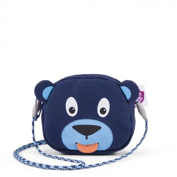 Affenzahn Geldbeutel Bär blau Kinderportemonnaie
