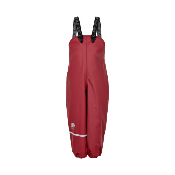 Celavi Thermo Matschhose rio red Winter Regenhose mit Fleecefutter