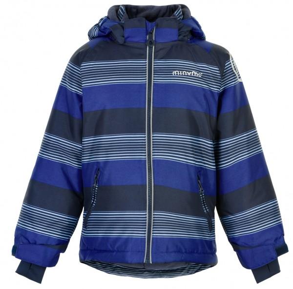 MINYMO Jungen Winterjacke placid blue Stripes