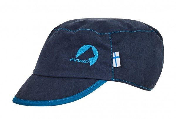 Finkid MIKKE navy / nautic Sommer Cap mit UV Schutz