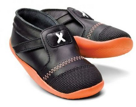 Bobux Xplorer Lauflernschuhe Black/Orange