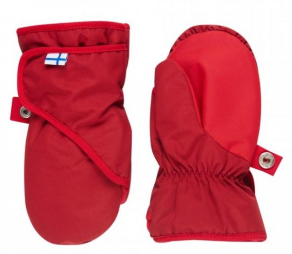 Finkid Lapanen pepper/red Thermo Handschuhe Fäustlinge wasserfest