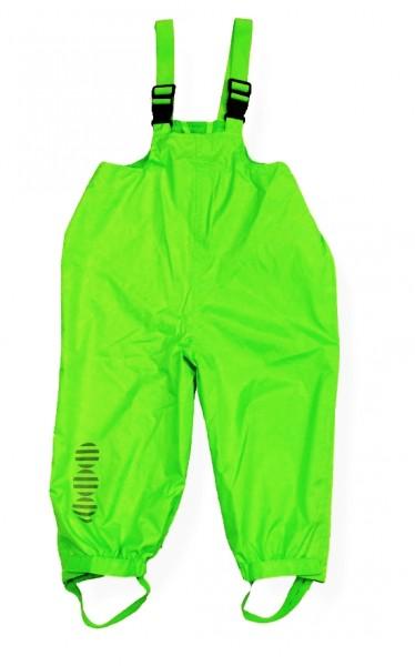 Minymo Regenlatzhose Raven08 neon grün
