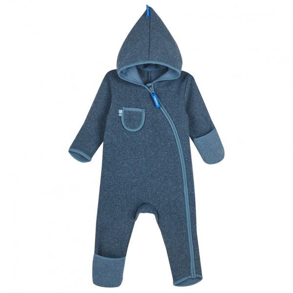 Finkid PUKU SPORT blue mirage Baby Strickfleece Overall