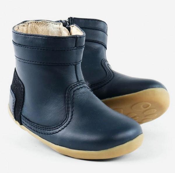 Bobux step-up Bolt Boots navy Stiefelchen gefüttert