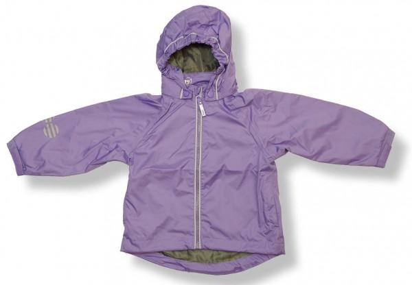 Minymo Mädchen Outdoorjacke Regenjacke flieder uni