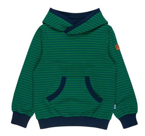 Finkid JUTTU leaf/spruce Hoodie Kapuzenpulli Sweatshirt mit Kapuze