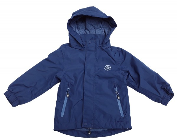 Color Kids Kinder Regenjacke Niffer blue atmungsaktiv