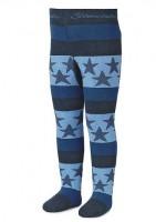 Sterntaler Kinder Thermostrumpfhose blau/hellblau Sterne
