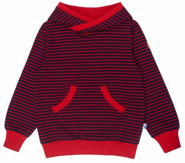 Finkid JUTTU navy/red Hoodie Kapuzenpulli Sweatshirt mit Kapuze