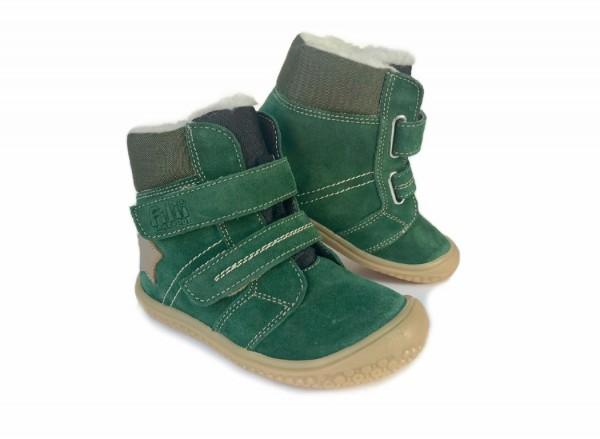 Filii HIMALAYA forest grün Kinder Winterstiefel mit Thermofutter