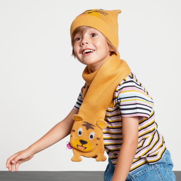 Affenzahn Geschenkset Tiger Mütze & Schal