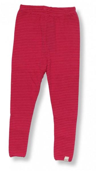 Celavi Legins lange Unterhose pink-berry Merino Schurwolle Ökotex100