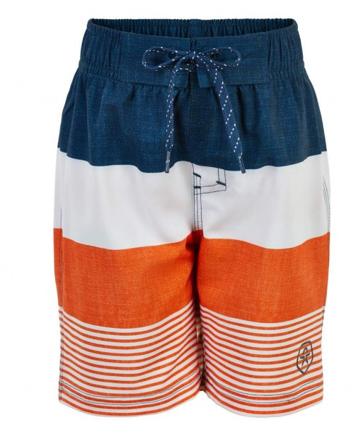 Color Kids NELTA marine/orange Kinder Badeshorts Beach Bermuda