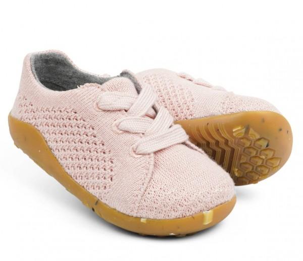 Bobux SEEDLING Sneaker rosa Barfußschuhe vegan