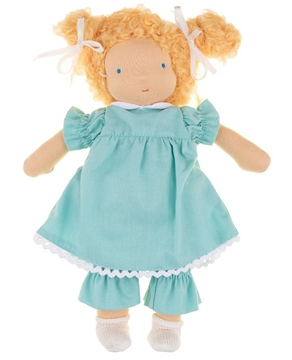 Walkiddy Puppe Lisa Bio Stoffpuppe nach Waldorf Art