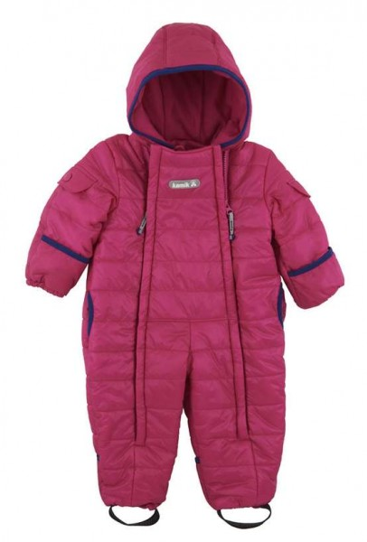 Kamik Topaz superhero pink/navy Baby Thermoanzug Wärmeoverall
