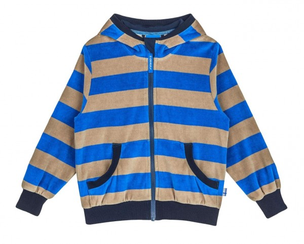 Finkid NIKKI blue/pebble Nicky Kapuzenjacke - Zip in Innenjacke