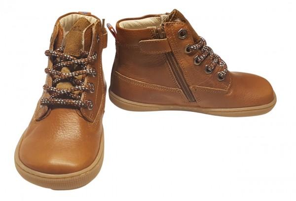 Koel Bio Winter-Boots FRAJU Tex cognac WEIT Barfußschuhe mit Wollfutter