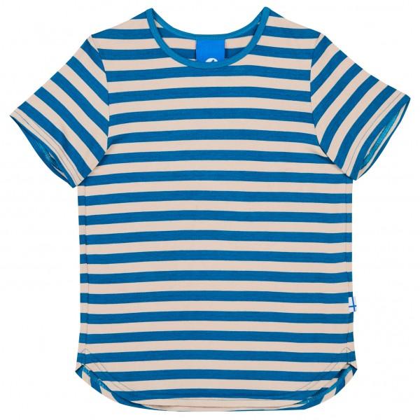 Finkid Maalari Blockstreifen T-Shirt nautic pepple