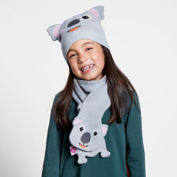 Affenzahn Geschenkset Koala Mütze & Schal