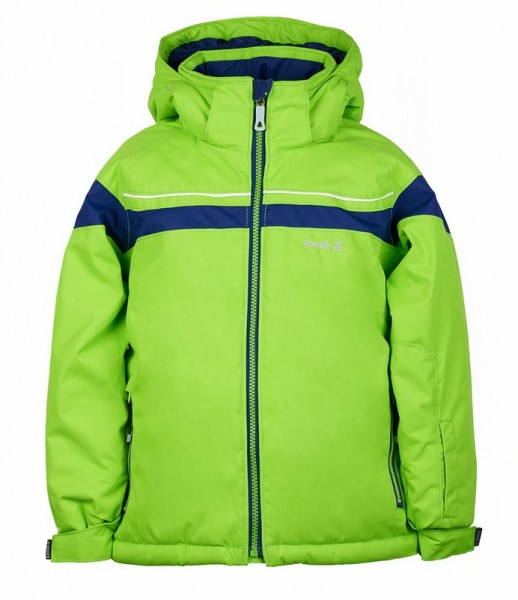 Kamik Jax Outdoorjacke limegreen / navy