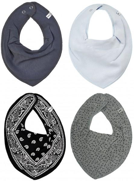 Pippi Babywear Halstücher Grey Bubbles 4er Pack
